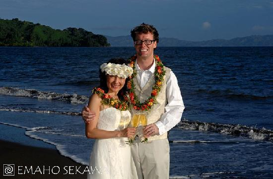 Emaho Sekawa Resort: Romantic wedding in Fiji
