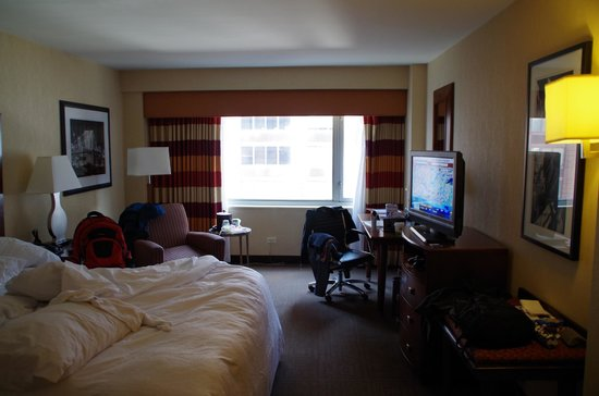 The Hampton Inn Times Square North: habitacion