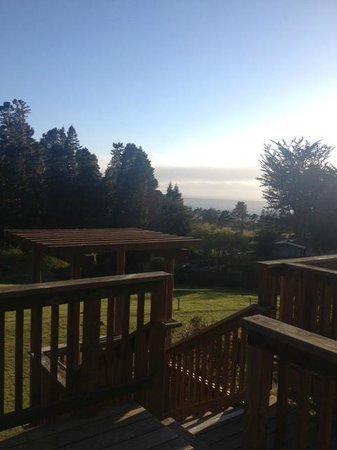 Inn at Schoolhouse Creek : Deck View