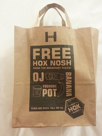 Hoxton Hotel : Breakfast bag 