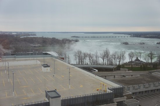 Four Points by Sheraton Niagara Falls Fallsview: view from room 1404