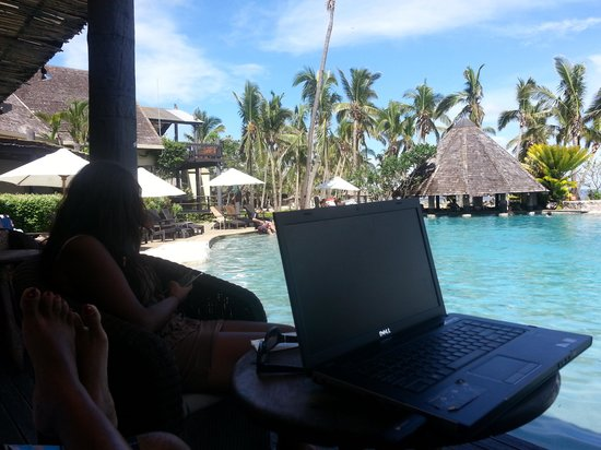 Sonaisali Island Resort Fiji: Could be my office.