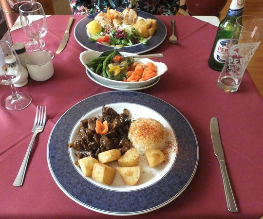 Trowbridge, UK: beautifully prepared dishes