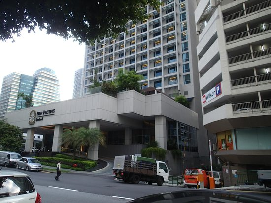 Aussenansicht picture of pan pacific orchard singapore - Pan pacific orchard swimming pool ...