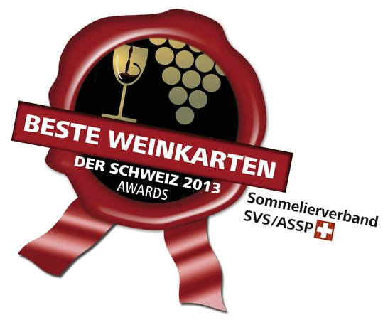 Celerina, İsviçre: Award Best Swiss Wine Lists 2013