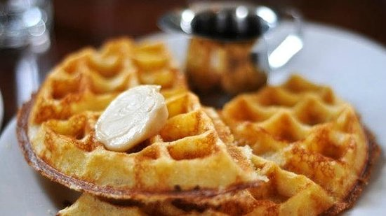 Iron Mountain, MI: Make your own waffles daily