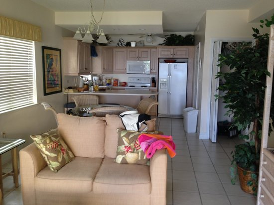 Regal Beach Club: Our 2 bedroom 2 bath condo!