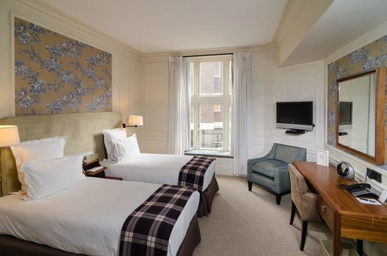 Sloane Square Hotel: Twin room
