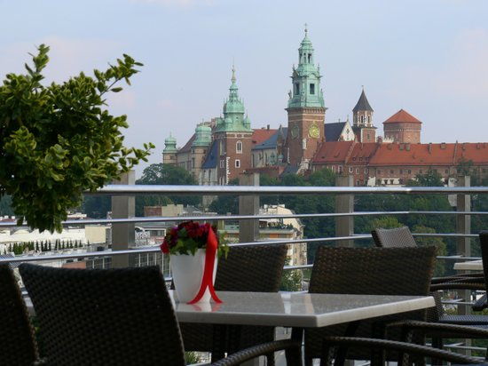 Hotel Kossak : Blick auf den Wawel 
