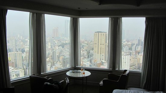 The Prince Park Tower Tokyo: vue de notre chambre Premium