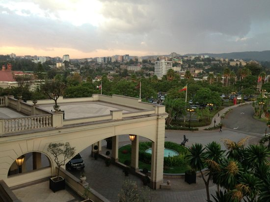 Sheraton Addis: The view from my room