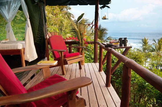 La Leona eco Lodge: You could be here righ now, come visit us.....