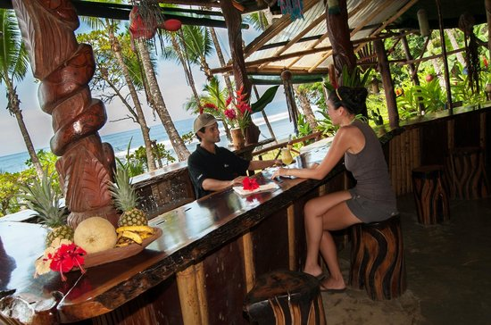 La Leona eco Lodge: Enjoy a Cold Drink or a Coctail with the best view ever...