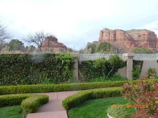 Canyon Villa Bed and Breakfast Inn of Sedona : View from Claret Cup