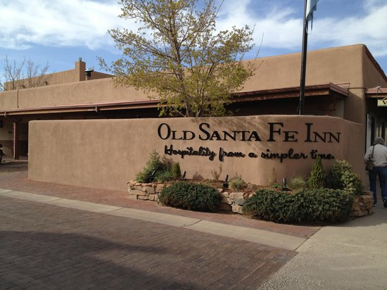 Old Santa Fe Inn: Entrance