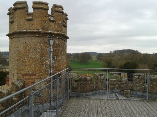 Alcester, UK: view from the tower