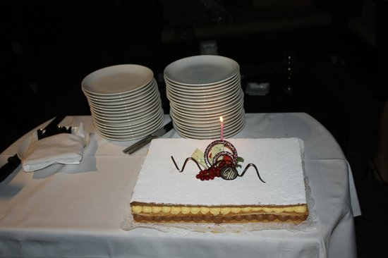 Sheraton Diana Majestic Hotel: Torta