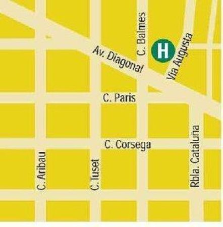 Colon Hotel: Map