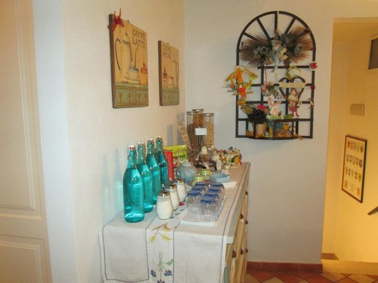 Bed and Breakfast Alle Due Porte : zona colazione