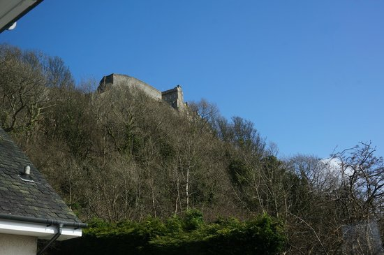 Castlecroft: View of Sterling Castle from the B&B