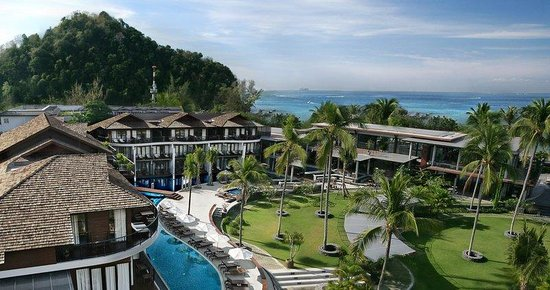 Holiday Inn Krabi Ao Nang Beach: Hotel Exterior