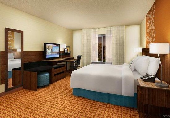 Fairfield Inn &amp; Suites Orlando Int&#39;l Drive/Convention Center: King Guest Room