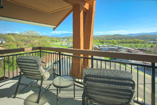 Cherokee Lodge Condos : Balcony