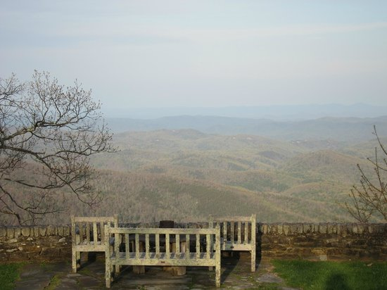 Gideon Ridge Inn : View of the Blue Ridge