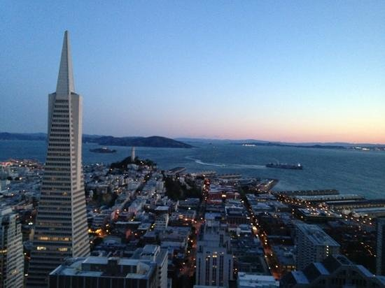 Mandarin Oriental, San Francisco: sunset