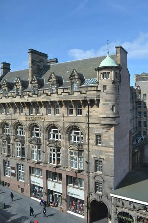 Radisson Blu Hotel, Edinburgh: View from my room