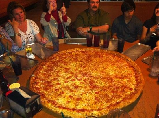 big pizza, big prices - Picture of Big Lou's Pizza, San ...