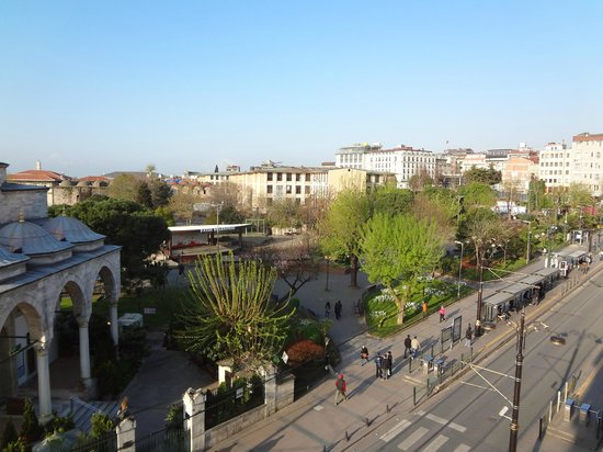 Sultanahmet Hotel: View from terrace