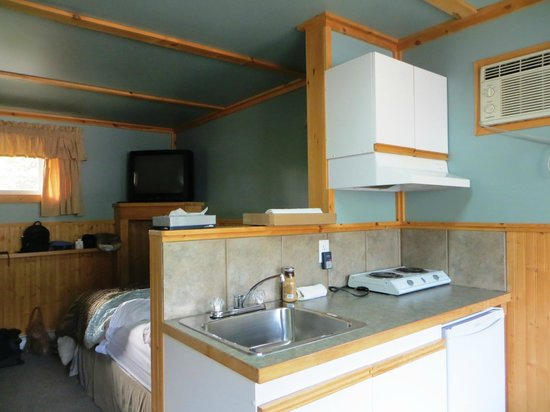 Piccadilly Motel: Kitchenette