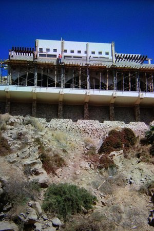 Hotel Finisterra : construction