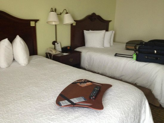 Hampton Inn Orlando/Lake Buena Vista: Two beds