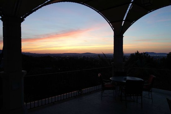 Castillo Hotel Son Vida, a Luxury Collection Hotel: View from the terrace - sunrise