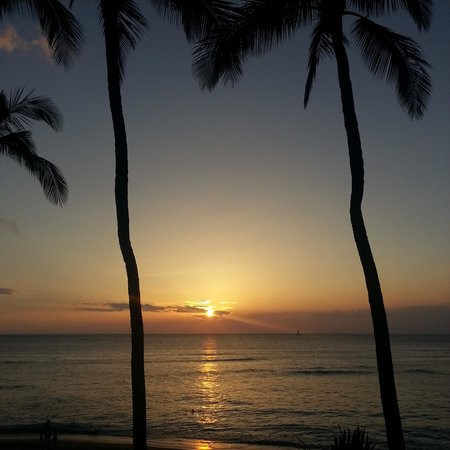 Hale Mahina Beach Resort: view from 205 A