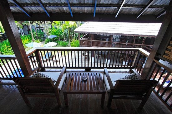 BanThai Village: Terrace