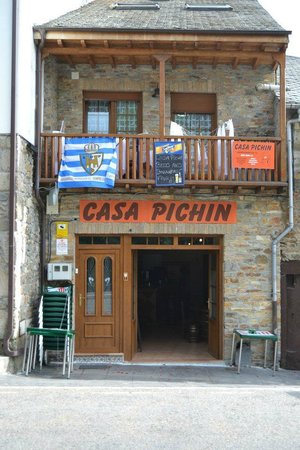 Molinaseca, Spain: PASILLO