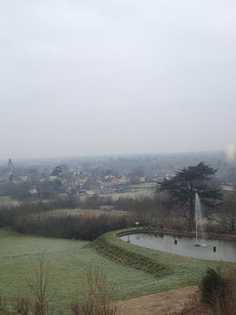 Congresbury, UK : view from the room 