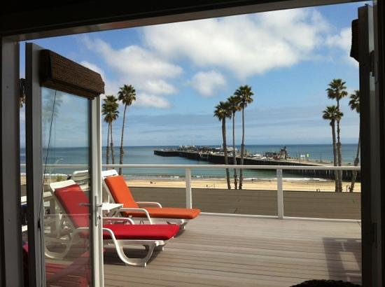 Beach Street Inn and Suites: the terrace and view