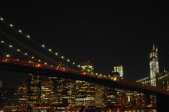 The Belvedere : Brooklin bridge et la vue sur Manhattan