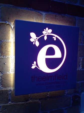 The Elmfield: signage
