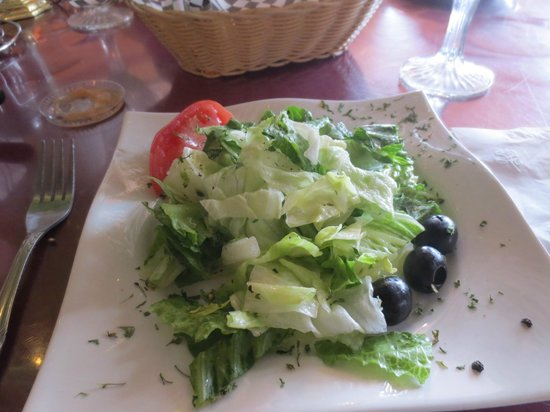 Ogdensburg, NY: our salad