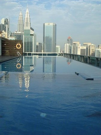 Somerset Ampang Kuala Lumpur : Infinity pool 