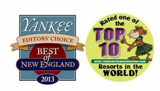 Red Jacket Mountain View Resort: Proud recipient of Yankee Magazine Best Family Resort NE