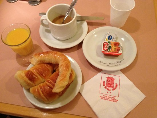 Gran Hotel Hispano: Breakfast