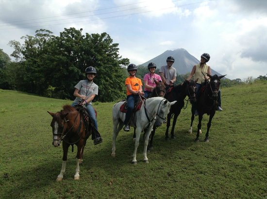 The Springs Resort and Spa at Arenal: Horse Back Riding at Club Rio