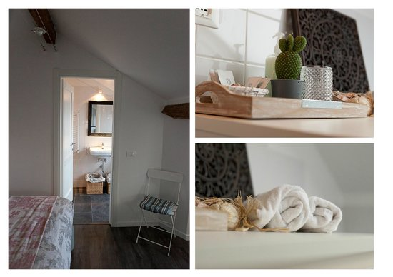 Il Borgo di Genova: Rooms with elegant private ensuite bathroom - comfortable bed and deliciuos breakfast