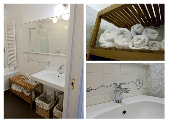 Il Borgo di Genova: Rooms with elegant private ensuite bathroom - comfortable bed and deliciuos breakfast - Genova